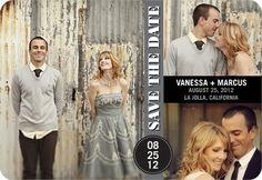 Save the Dates on WeddingPaperDivas.com