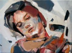 The rest of you - 30cm x 40cm - Oil on canvas - Benjamin García
