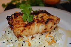 Easy Miso-Glazed Sea Bass Recipe