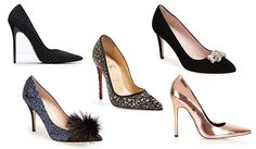 Whether it's a family gathering, a Christmas party with friends or New Year's Eve, it's important that your shoe game is on point this month.