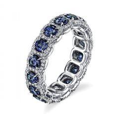 Blue Aquamarine Mermaid 925 Sterling Silver Filled Birthstone December Ring R119