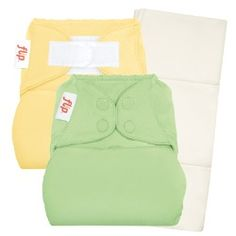 My 2nd favourite night time option - Flip Cloth Diapers with organic inserts.  Love the Flip covers over my Sbish diapers too!  #sealedwithapin @Diaper Junction Cloth Diapers