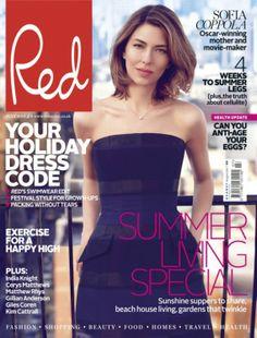 Sofia Coppola for Red Magazine UК, July 2013