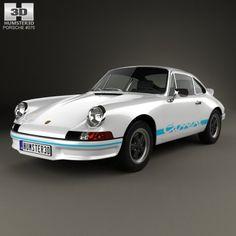Porsche 911 Carrera RS Sport 911 1972 3D Model .max .c4d .obj .3ds .fbx .lwo .stl @3DExport.com by humster3D