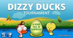 Zombie ducks or alien ducks? Find the dizzy ducks and get your prize. www.bingohall.com
