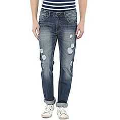 American Crew Men's Straight Fit Jeans (Medium Blue) of 2999 at just 999 Rs only American Crew, Discount Deals, Script, Coupon, Apps, Amazon, Medium, Fitness, Blue