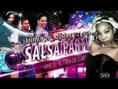 Előzetes | Január 20. Salsa Party Salsa Party, Dj, Concert, Merengue, Reggaeton, Train, Concerts