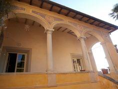 Large 16th Century Frescoed Villa + Annex with Sea View | Casa Tuscany