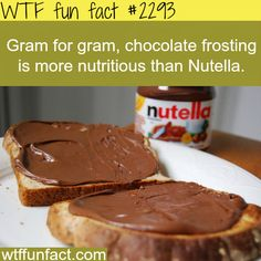 Haha that's how they sell their Nutella. They trick us into thinking the wonderfully delicious stuff is actually healthy for you when really it's not.  (But I don't care it's still quite yummy!)