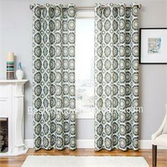 nisa curtain panel available in 2 colors these bold patterns are huge this year