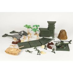 Sizzlin' Cool Sand Toy Shape and Mold Playset - Army Dune Patrol Toys R Us.