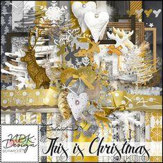 Oscraps.com Digital Scrapbook Store | Scrapbooking | Art :: This is Christmas {Bundle}
