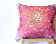 Popular items for purple cushion cover on Etsy