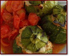 Ricette regionali > Calabria > Minestre: Zucchine ripiene