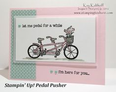 Stampin' Up! Pedal Pusher Sale-a-bration 2016 with the How To Video