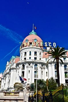 Checking in to Le Negresco Hotel Nice, France - all you need to know about one of the most historic and celebrated hotels in the French Riviera!