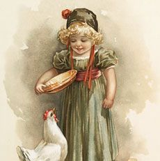 I'm sharing this cutie today. This is a Sweet Vintage Farm Girl Image!! This cute little girl, is dressed in Green and Pink, she is feeding some adorable Yellow Chicks! Such a dear Image for your Children's or Farmhouse Themed Craft or Collage Projects! Hello! Are you new to The Graphics Fairy? Welcome, I'm so...Read More »