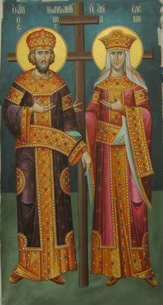 Religious Icons, Religious Art, Byzantine Icons, Orthodox Christianity, Madonna And Child, Orthodox Icons, Klimt, Catholic, Medieval