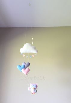 Baby mobile - Baby Mobile Owl - Owl Nursery - Cloud Mobile by lovefeltmobiles on Etsy https://www.etsy.com/listing/281089474/baby-mobile-baby-mobile-owl-owl-nursery