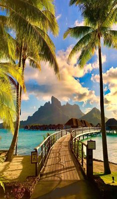 Summer, welcome to your vacay in the beautiful Bora Bora! Your tropical fantasy awaits you. Vacation Places, Vacation Destinations, Vacation Trips, Dream Vacations, Vacation Spots, Places To Travel, Places To See, Dream Trips, Romantic Vacations