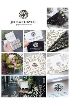 Winners of Identity: Best of the Best 2010.  C2 – Corporate Identity (trading and distribution).  C2, №1, Julia | Anna Bogonosova and Daniil Malkin (Russia)    flowers shop