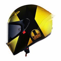 The Helmet Art Of Hello Cousteau - motorcycle helmets - Motorrad Motorcycle Helmet Design, Racing Helmets, Motorcycle Types, Motorcycle Gear, Bike Helmets, Women Motorcycle, Triumph Motorcycles, Custom Motorcycles, Vintage Motorcycles