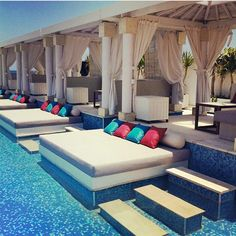 VUE Beach Club-- Bali photodiary [part 2]  #travel #Bali #Indonesia #pool #poolside #lounge