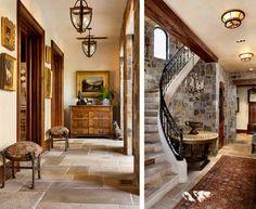 English Tudor - traditional - hall - san francisco - by Linda L. Floyd, Inc., Interior Design