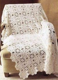 ergahandmade: Crochet Blanket + Diagram