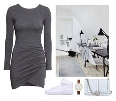 """""""Style office"""" by eellcat ❤ liked on Polyvore featuring H&M, Rebecca Minkoff, NIKE and Olivia Burton"""