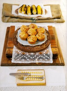 Mieliemeel-Braaivleismuffins Date Slice, South African Recipes, Scones, French Toast, Muffins, Recipies, Bread, Breakfast, Food