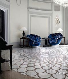Mosaic Collections Marble Mosaic SiciStone Mosaic Collection Interactive Catalogue Sicis - The Art Mosaic Factory Floor Design, Tile Design, House Design, Floor Patterns, Tile Patterns, Riad Fes, Sicis Mosaic, Interior Exterior, Interior Design