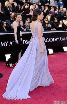 mila kunis lavender oscar dress - Yahoo Image Search Results