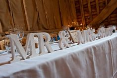 Wedding table ideas. Shabby chic wedding. Graham Young Photography.