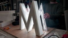 Illuminated signs – We offer a wide range of LED's to choose from with a guaranteed 5-year warranty.
