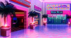 New Retro Wave, Retro Waves, Neon Aesthetic, Aesthetic Room Decor, Vaporwave, Retro Futuristic, Girly, Aesthetic Backgrounds, Grafik Design