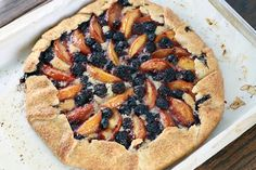berry crostata, the ultimate summer dessert! A tender cornmeal crust ...