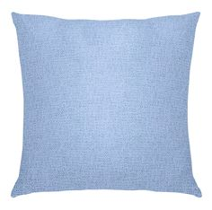 Knife Edge Pillow in Luxe Loop: Vast Sky | Maine Cottage