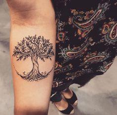 Love tree tattoos