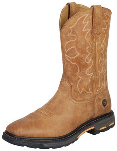 colorful pictures of western saddles | Men's Ariat 11'' Workhog Wide Square Toe Ariat Boots Apparel (Apparel ...