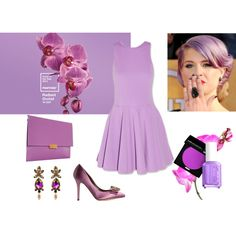 """Pantone 2014: Radiant Orchid"" by maricosta2 on Polyvore"