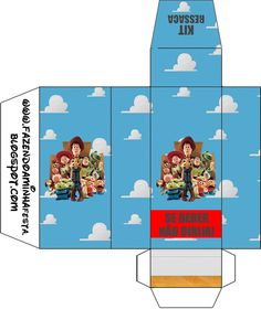 Toy Story 3: Free Printable Boxes.