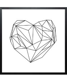 Heart Graphic of Mareike Böhmer now on JUNIQE!