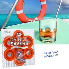 DrinkSavers Ice Tray - $8.99 from PerpetualKid,con (Plus Take 10% Off Orders > $50 with Promo Code FROSTY - on 12/14/12)