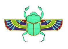 scarab beetle tattoos | Ancient Egyptian Scarab Beetle Tattoo Egyptian scarab by randolfo