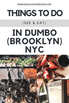 DUMBO brooklyn nyc new york city things to do things to see where to eat restaurants bridges