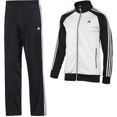 Adidas Riberio Track Suit ($34) ❤ liked on Polyvore featuring mens e men's clothing Modest Workout Clothes, Workout Outfits, Modest Outfits, Cute Outfits, Adidas Tracksuit, Mens Fashion, Fashion Outfits, Track Suits, Adidas Men