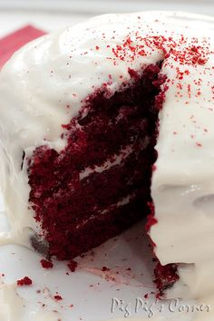 Hummingbird Bakery Red Velvet Cake 19