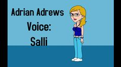 Adrian Andrews (From Ace Attorney) in GoAnimate