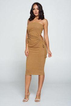 Strapless Dress, Bodycon Dress, Cashmere Fabric, Diva Boutique, Online Fashion Boutique, Spandex, Dresses For Sale, Women's Dresses, Formal Dresses
